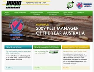 Termite Inspections - Sydney - Pest Force  - Ph 02 9651 2311