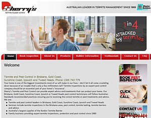 Sherry's termite and Pest Control Brisbane - Phone 1300 743 779